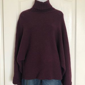 Maroon Gap Turtle Neck